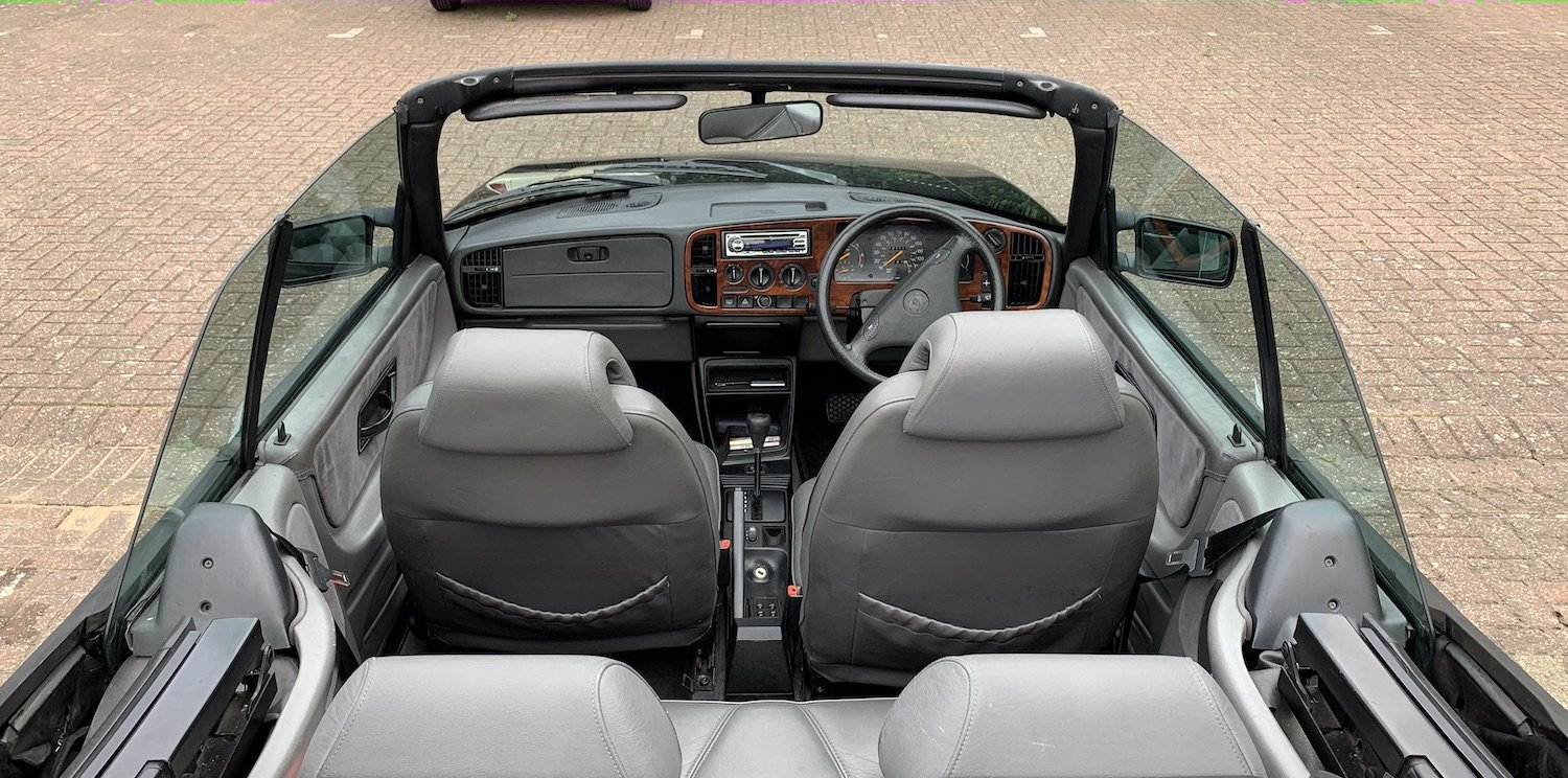 1992 Classic Saab 900i convertible in superb condition For Sale (picture 5 of 6)