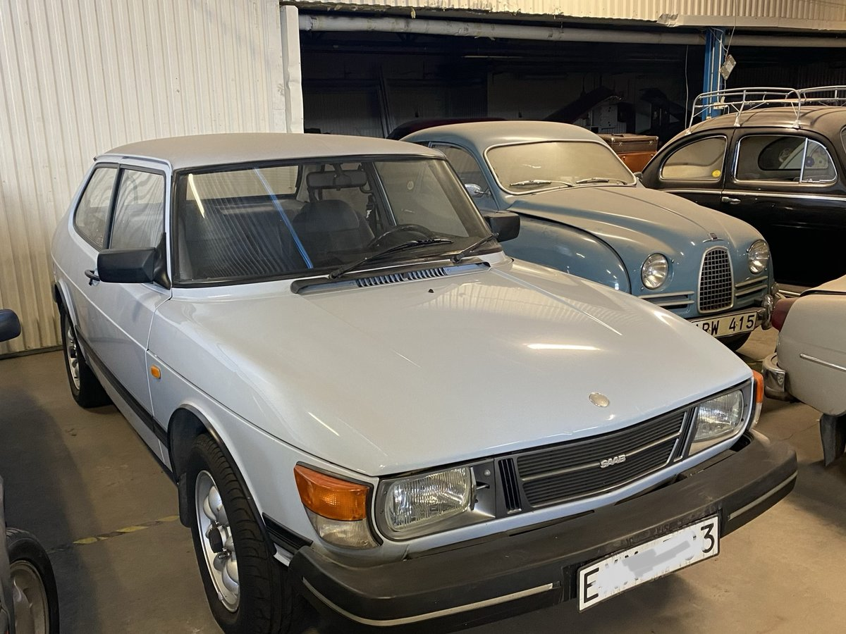 1987 Saab 90 rare original low kilometer  For Sale (picture 1 of 6)
