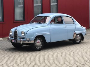 Very good classic Saab 96 Bull Nose TT (LHD)