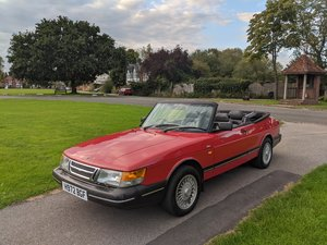 1990 900 SE Cabriolet The only one!!