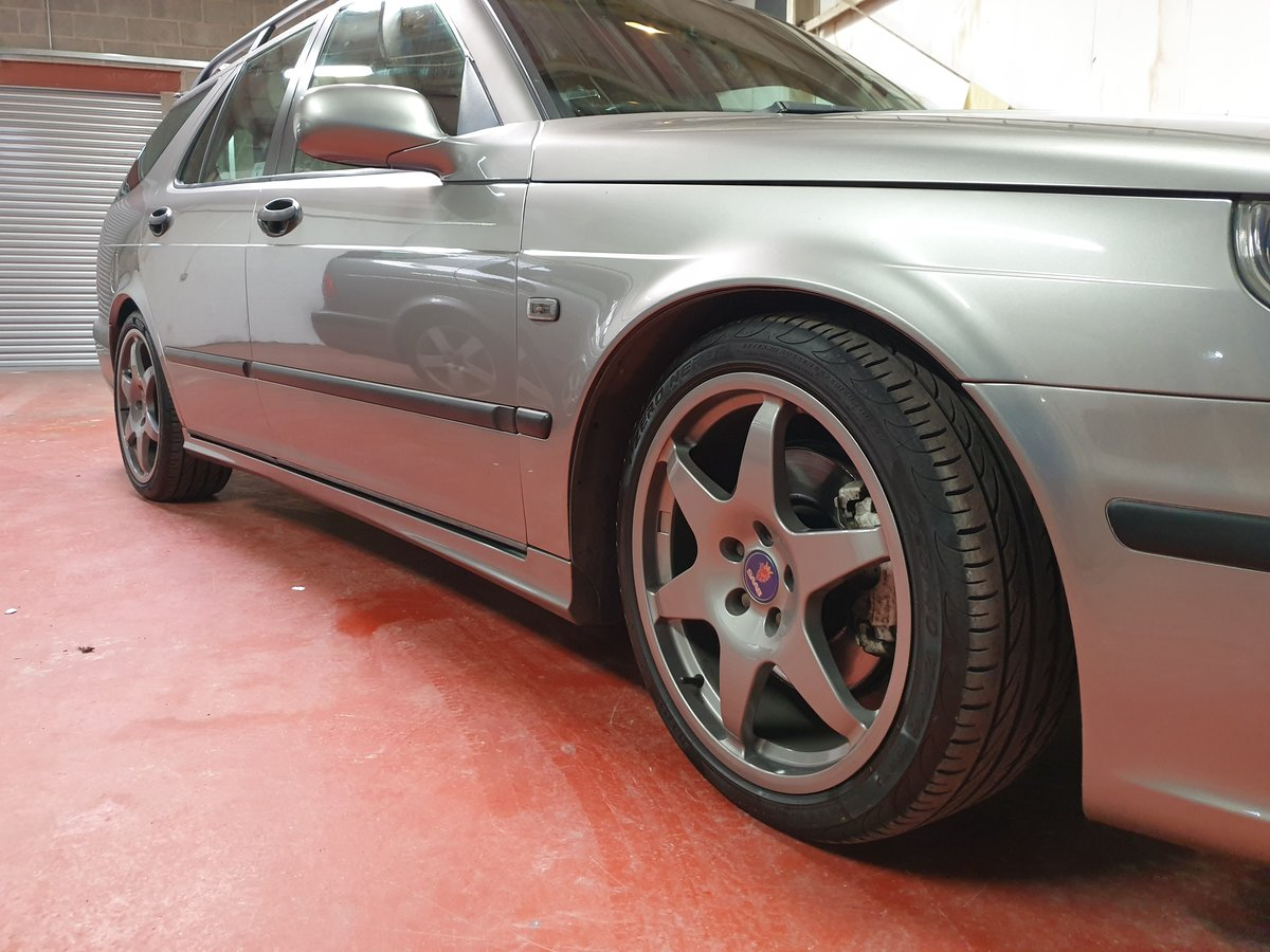 2004 Saab 9-5 Aero Estate 88k, Hirsch, Superb.Stage 4 For Sale (picture 4 of 6)