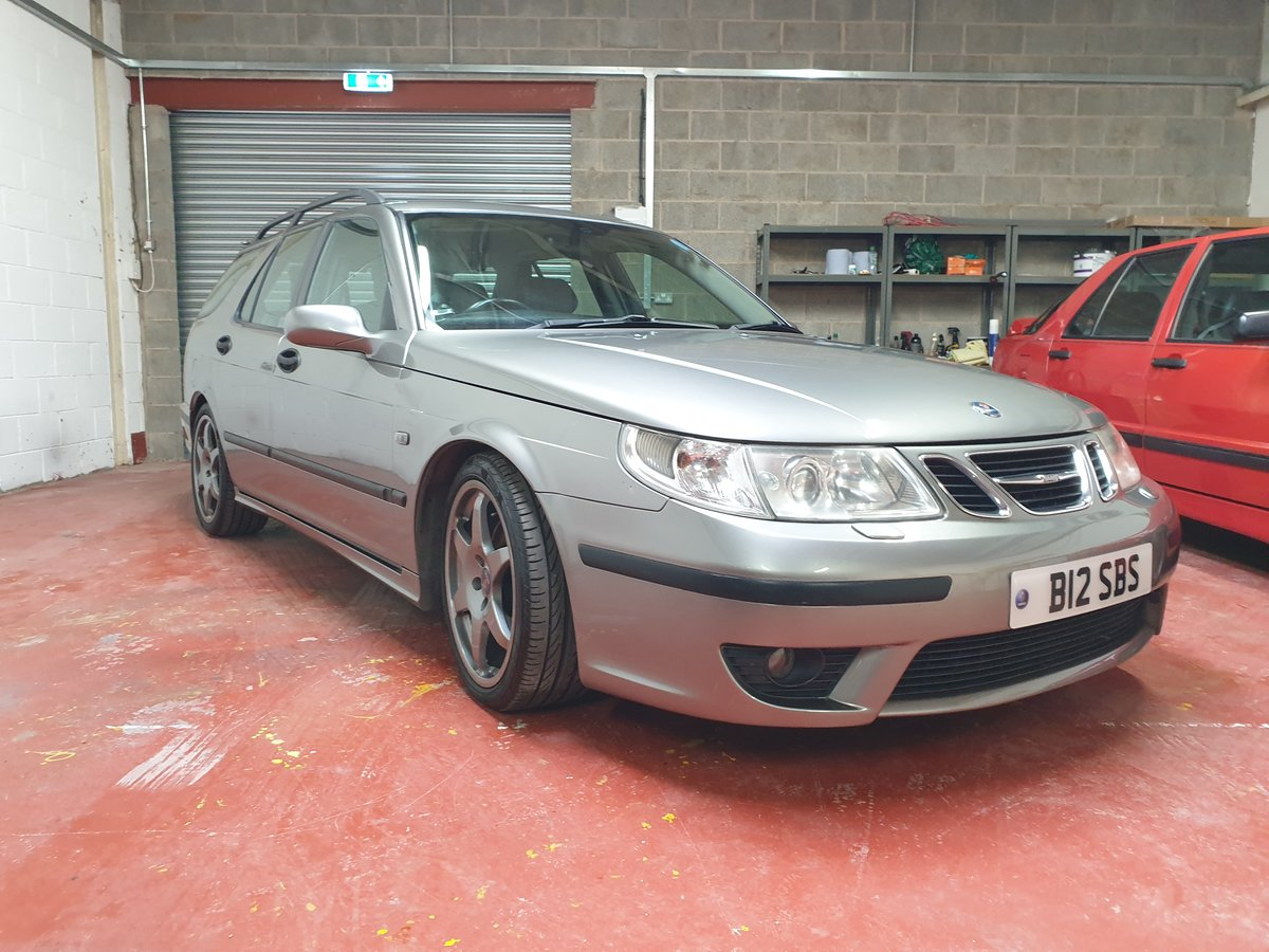 2004 Saab 9-5 Aero Estate 88k, Hirsch, Superb.Stage 4 For Sale (picture 1 of 6)