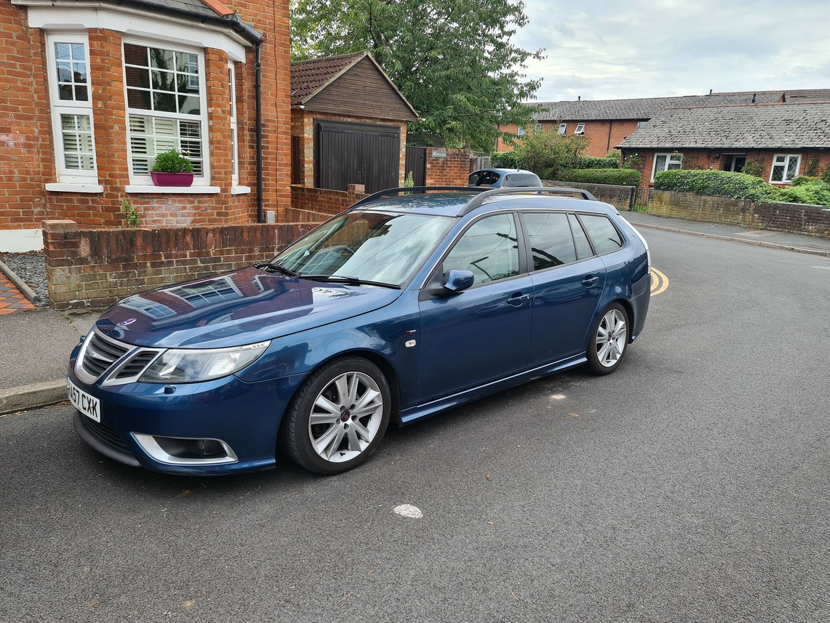 2007 9-3 Sportwagon - 2.8 Turbo - Surrey - £4500on For Sale (picture 1 of 6)