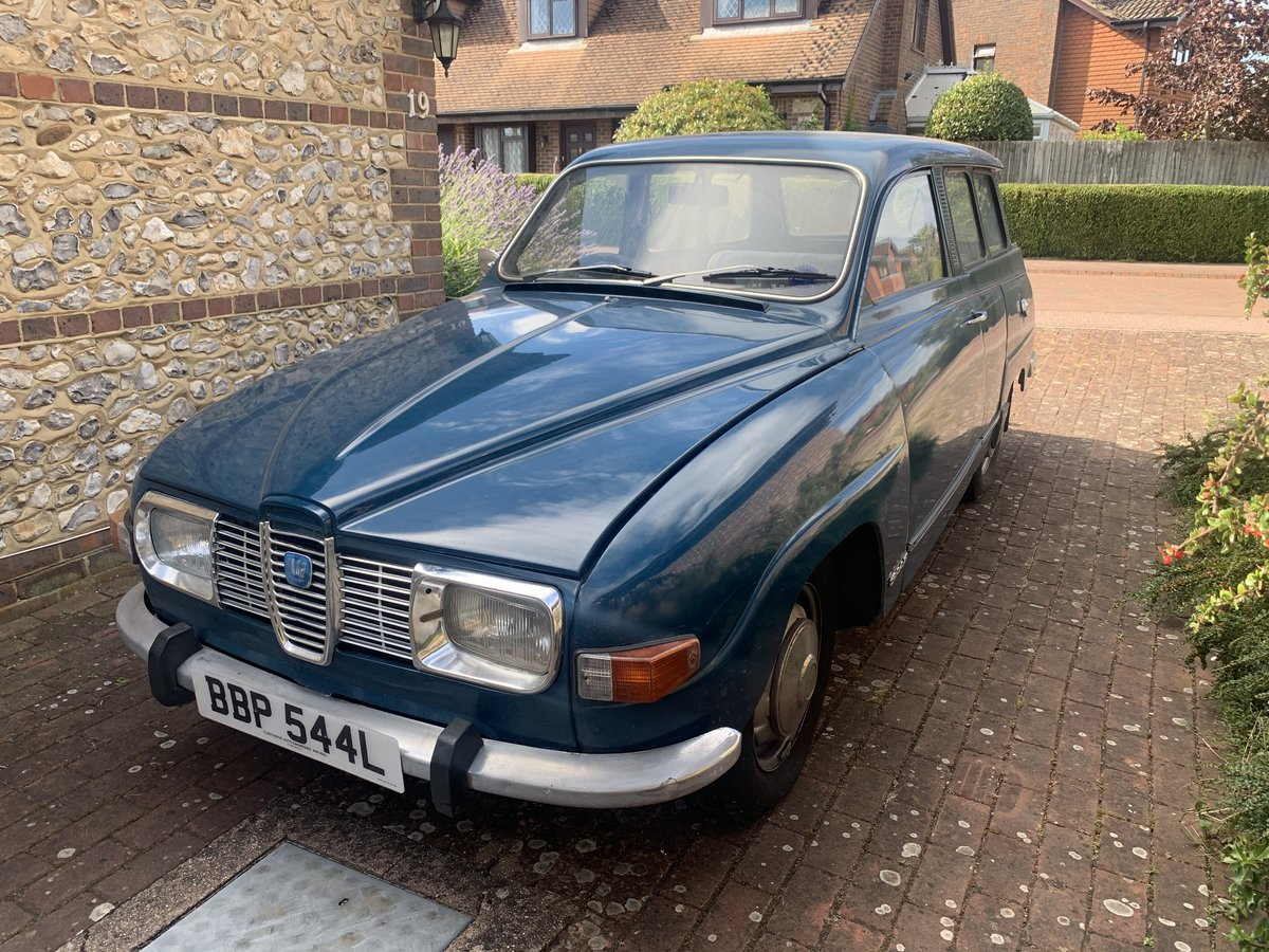 1971 SAAB 95 V4 Estate - One owner from new For Sale (picture 1 of 6)
