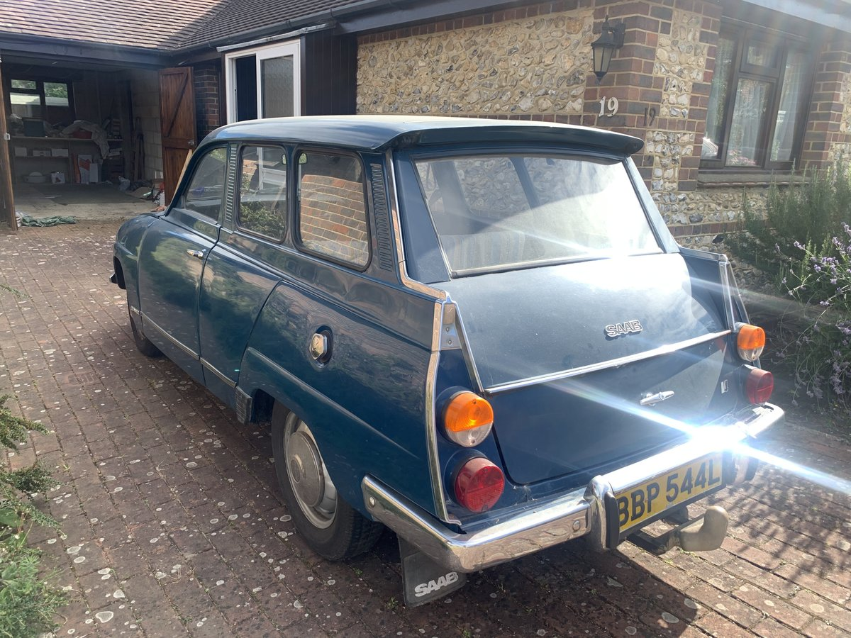 1971 SAAB 95 V4 Estate - One owner from new For Sale (picture 3 of 6)