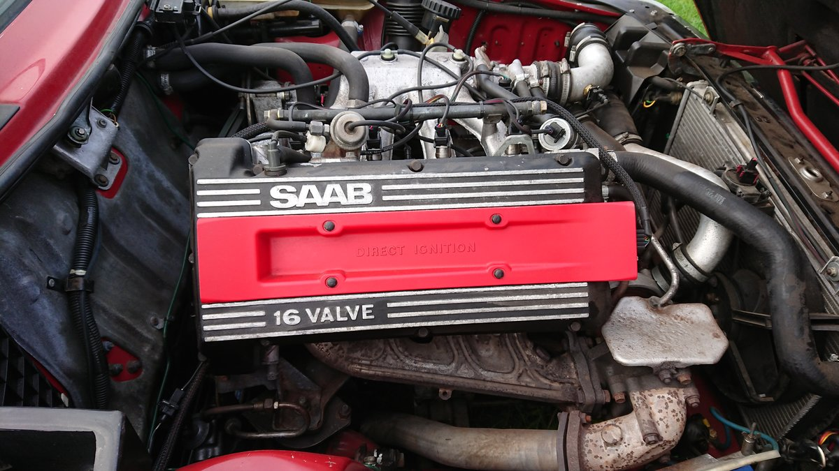 1989 Saab 900 T16 Aero Convertible T5 Trionic Conversion For Sale (picture 4 of 6)