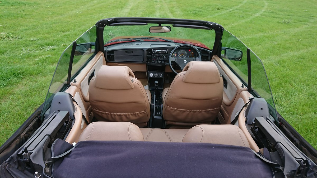 1989 Saab 900 T16 Aero Convertible T5 Trionic Conversion For Sale (picture 5 of 6)