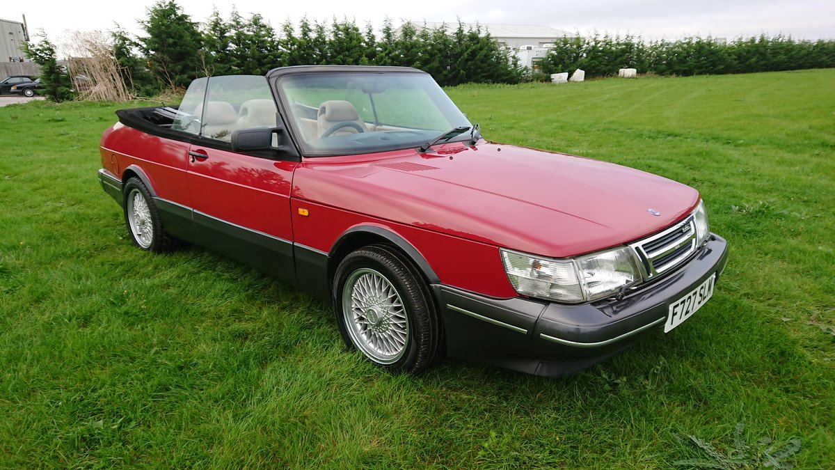 1989 Saab 900 T16 Aero Convertible T5 Trionic Conversion For Sale (picture 6 of 6)