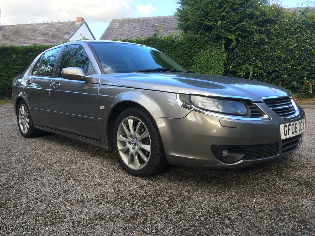 2006 Saab 9-5 tid 1.9 vector sport automatic For Sale (picture 1 of 6)