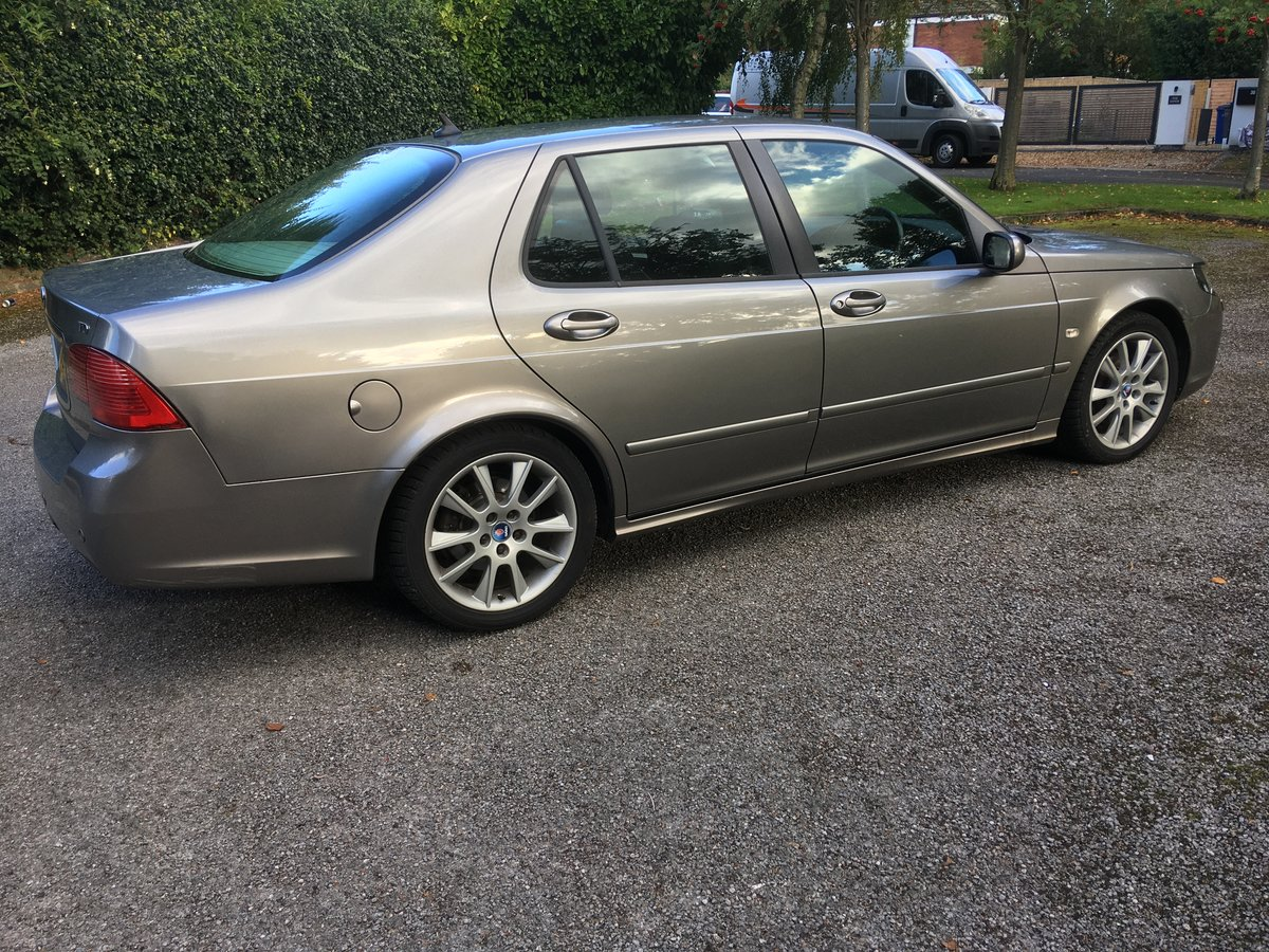 2006 Saab 9-5 tid 1.9 vector sport automatic For Sale (picture 2 of 6)