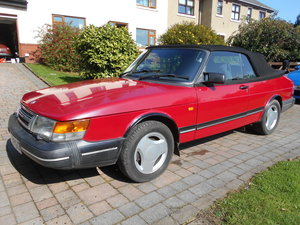 1993 Saab 900i Convertible For Improvement