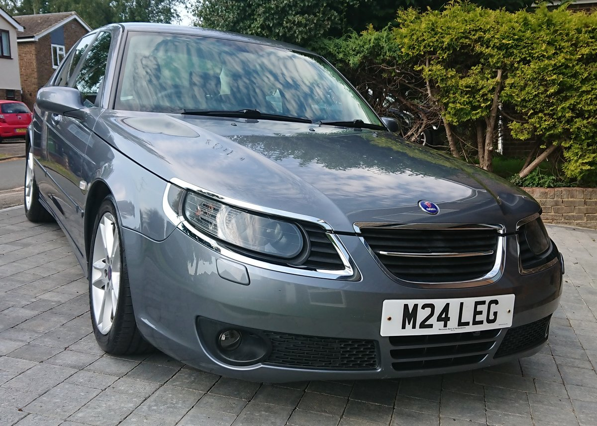 2007 Saab 95 Aero Hot 260 BHP Auto full service history SOLD (picture 4 of 6)