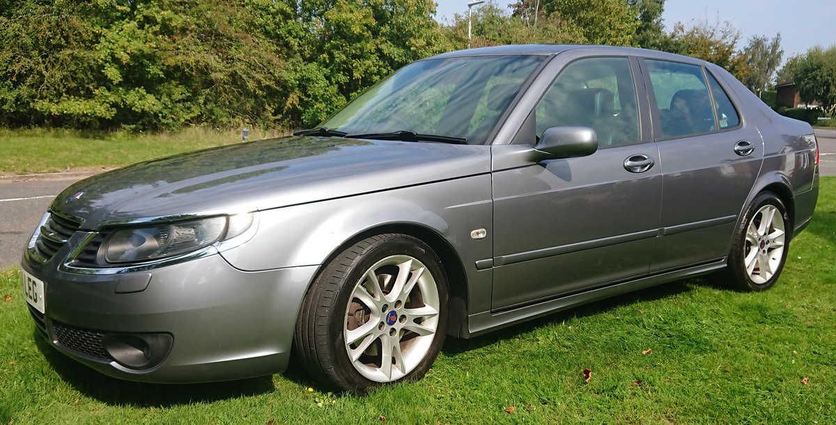 2007 Saab 95 Aero Hot 260 BHP Auto full service history SOLD (picture 5 of 6)