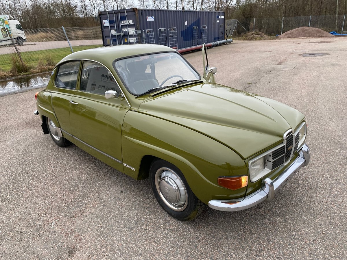 1972 96 overall a very good looking Saab For Sale (picture 1 of 5)
