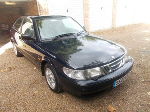 1998 SAAB 9-3 2.0i S  Coupe 3 dr Blue last owner 17 years RARE