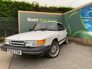 1989 Saab 900i - Ist October Auction entry - physical sale!
