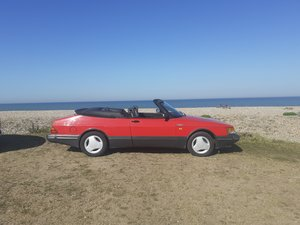 1990 SAAB Manual Turbo Convertible 67000 miles For Sale