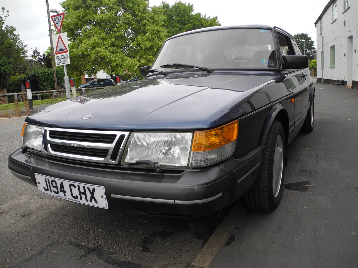 1991 SAAB 900 16V For Sale (picture 4 of 6)