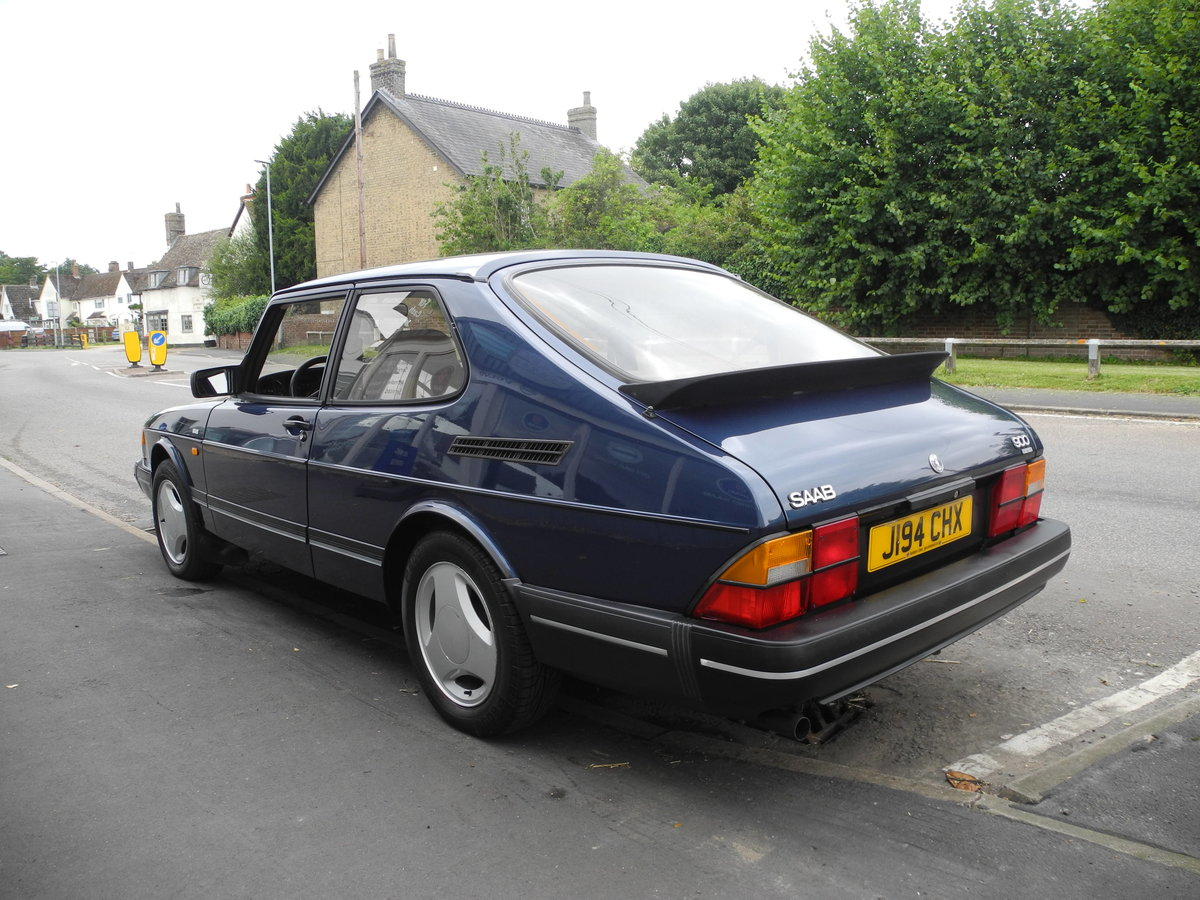 1991 SAAB 900 16V For Sale (picture 6 of 6)