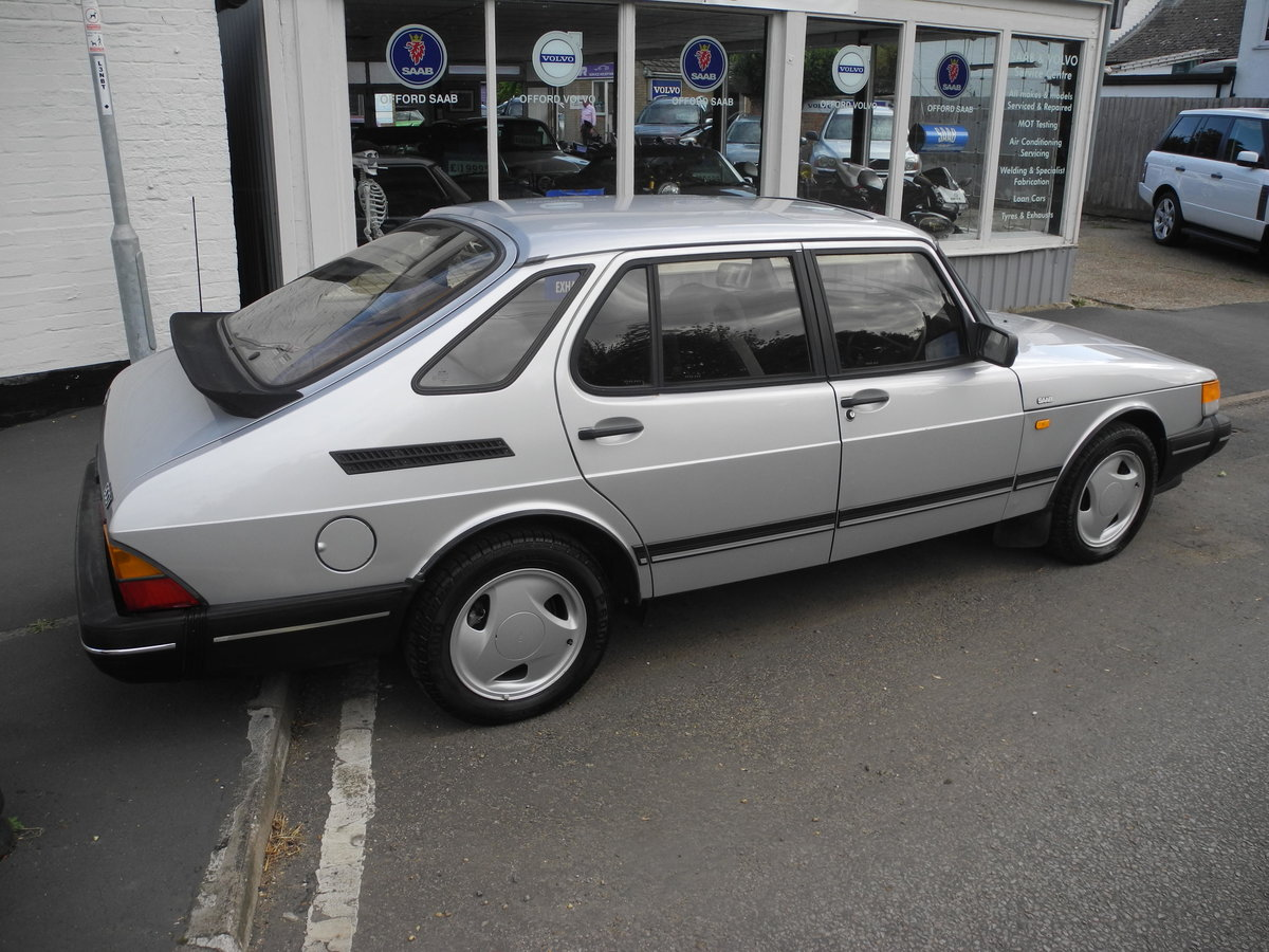 1988 SAAB 900 I For Sale (picture 6 of 6)