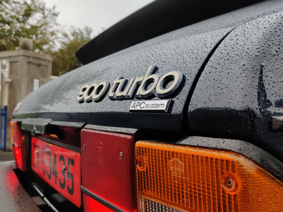 1984 Saab 900 Turbo flat front (Rare) For Sale (picture 1 of 6)