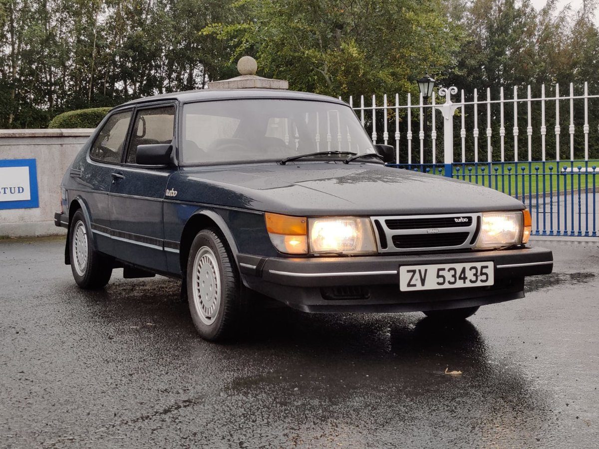 1984 Saab 900 Turbo flat front (Rare) For Sale (picture 2 of 6)
