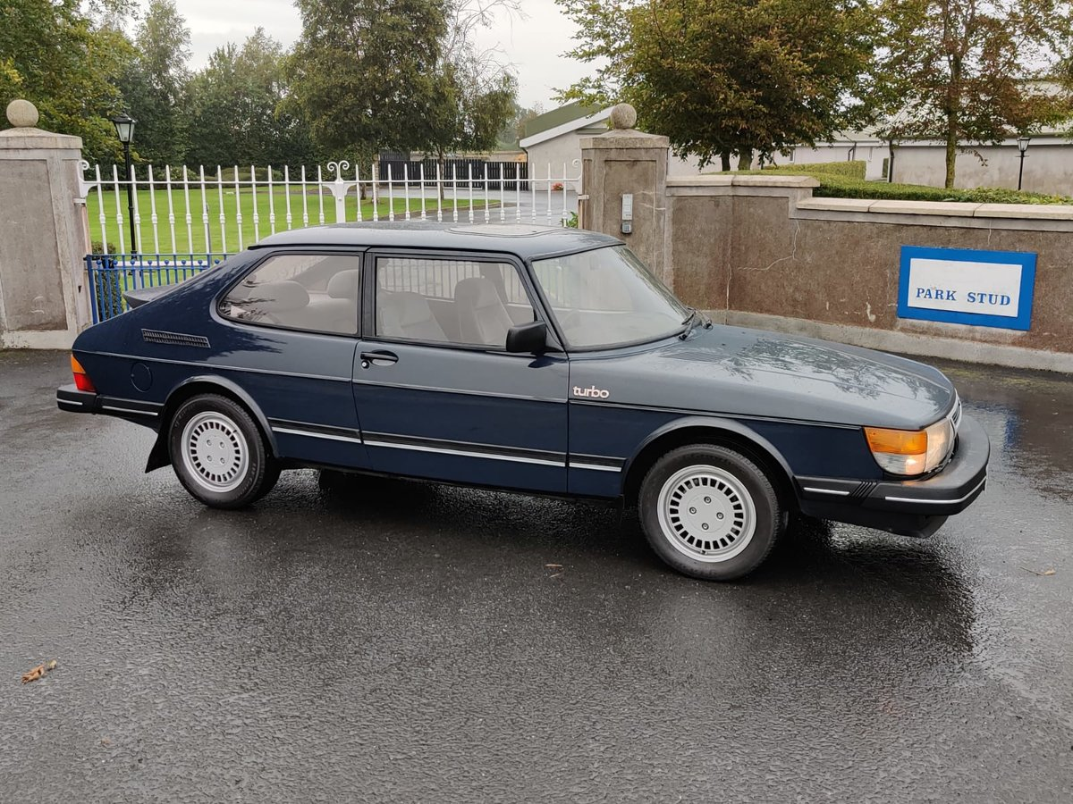 1984 Saab 900 Turbo flat front (Rare) For Sale (picture 3 of 6)