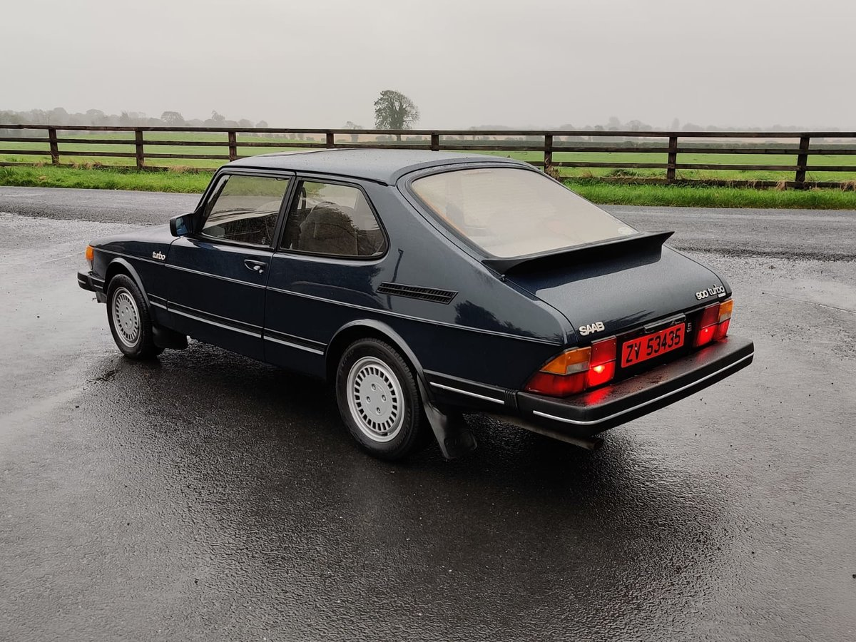 1984 Saab 900 Turbo flat front (Rare) For Sale (picture 4 of 6)
