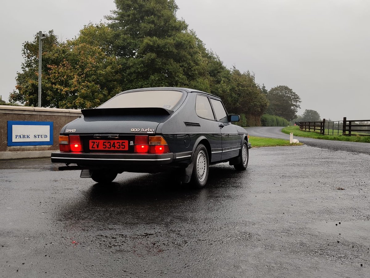 1984 Saab 900 Turbo flat front (Rare) For Sale (picture 5 of 6)