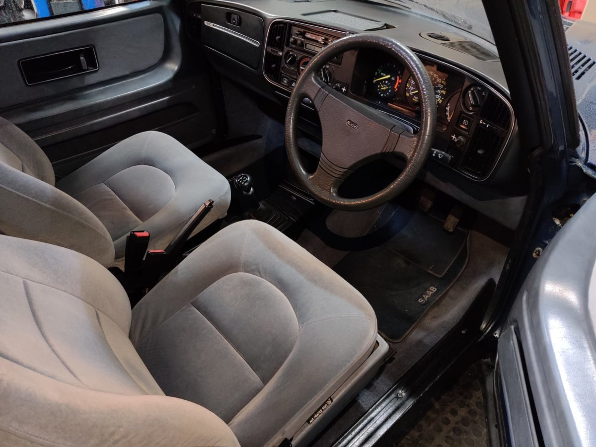 1984 Saab 900 Turbo flat front (Rare) For Sale (picture 6 of 6)