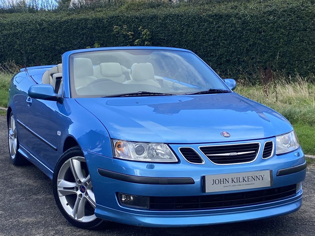 2007 SAAB 9-3 2.0 TURBO AERO CONVERTIBLE **STUNNING COL For Sale (picture 1 of 6)
