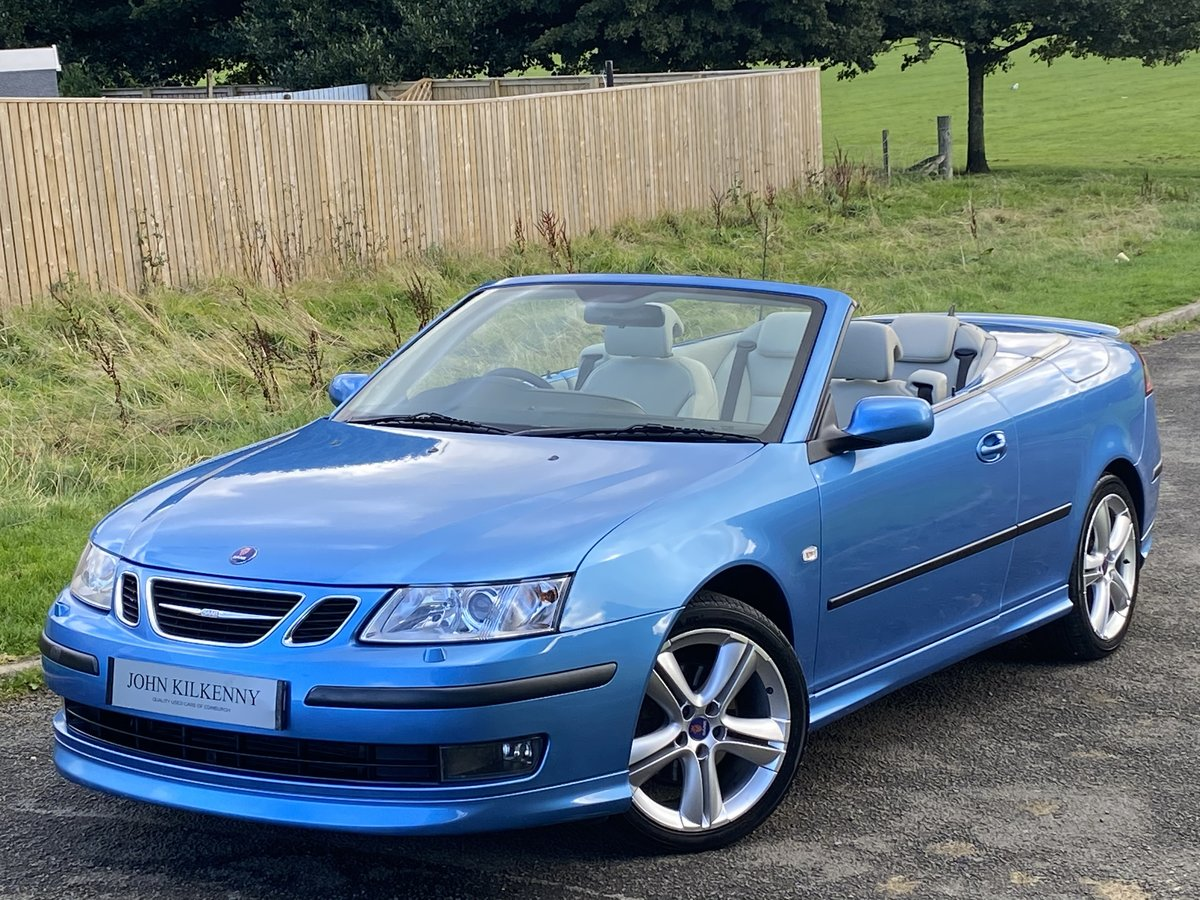 2007 SAAB 9-3 2.0 TURBO AERO CONVERTIBLE **STUNNING COL For Sale (picture 2 of 6)