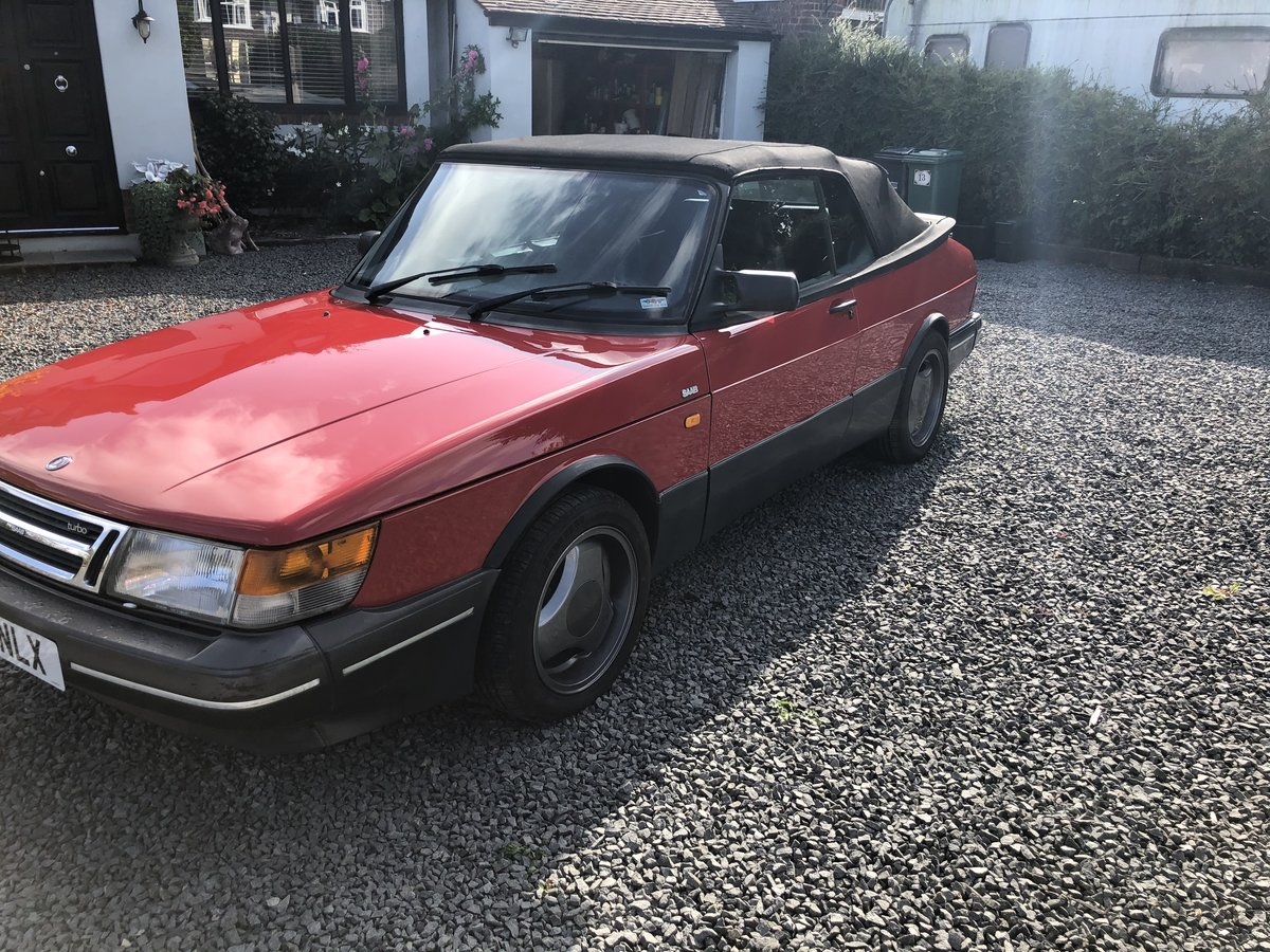 1992 Saab 900 classic t16s  full pressure turbo For Sale (picture 2 of 5)