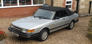 Saab 900i 16v Convertible, 30,000 miles. 1 family owned.