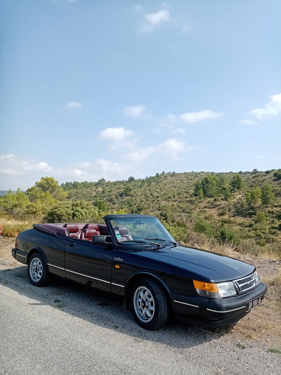 1987 Saab 900 cabriolet original rust-free condition For Sale (picture 6 of 6)