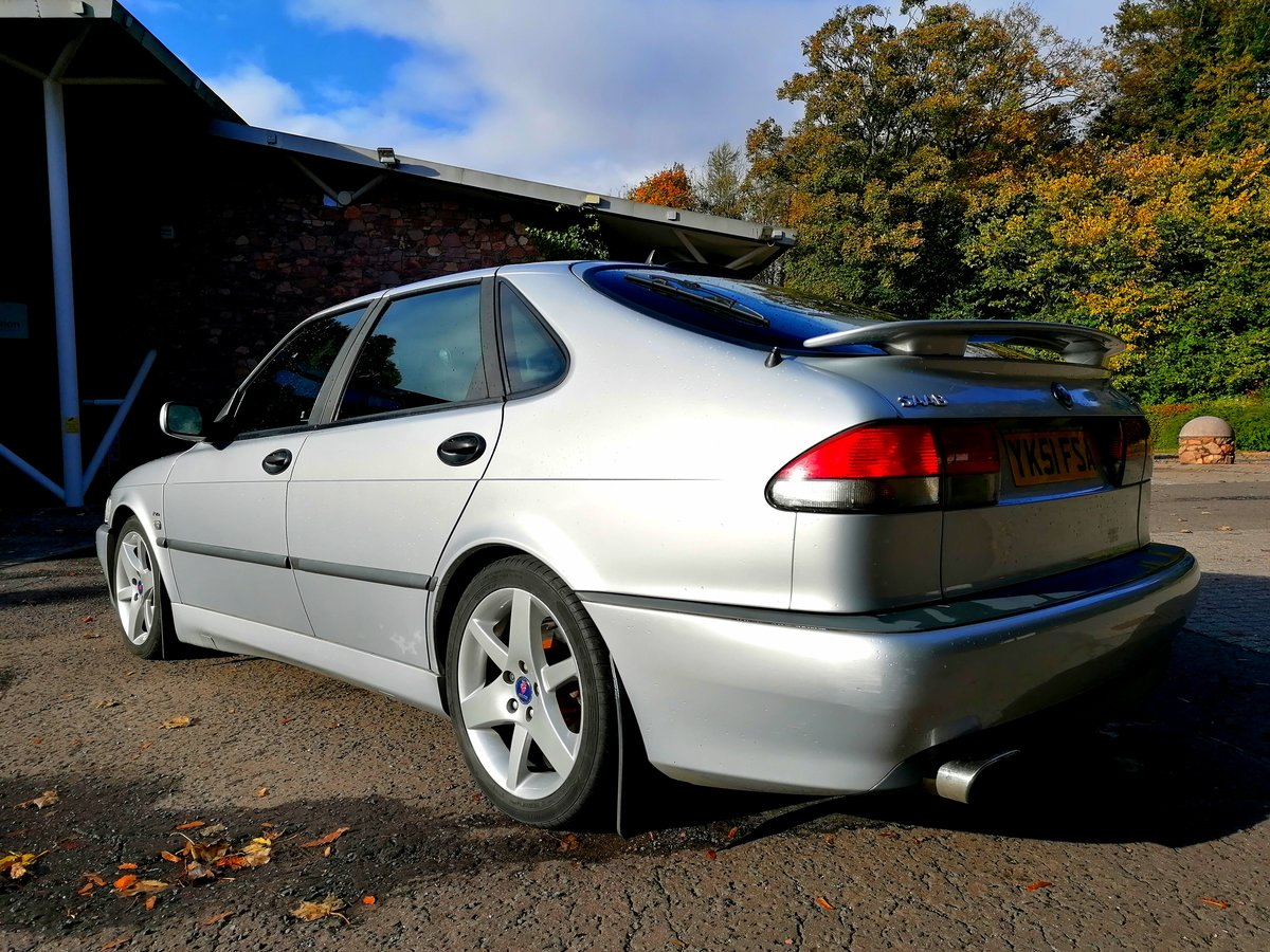 2001 Saab 9-3 AERO Hot Manual SOLD (picture 4 of 6)