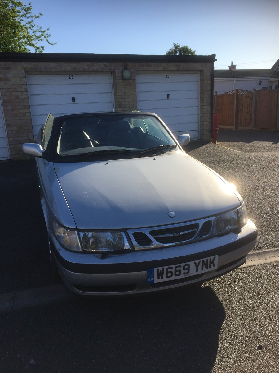 Picture of 2000 SAAB 93E TURBO CONVERTABLE For Sale