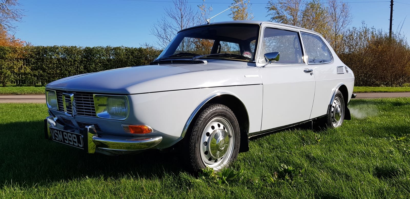 1971 Saab 99 1709cc 2-door, 79k miles, immaculate condition For Sale (picture 1 of 12)