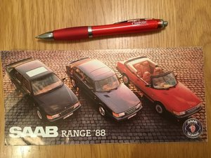Picture of 1988 Saab 900/9000 brochure SOLD