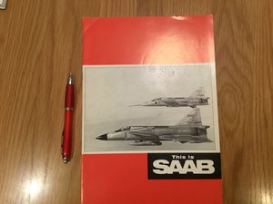 Picture of 1968 Saab brochure SOLD