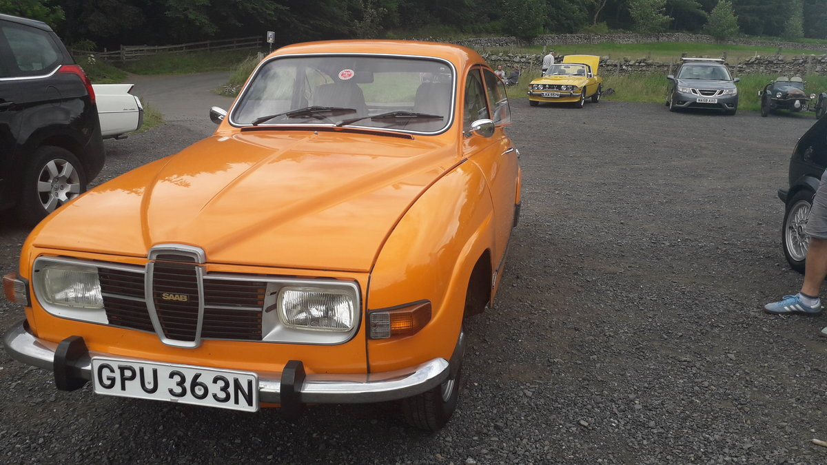 1974 Original Excellent Condition Saab 96 V4 For Sale (picture 1 of 6)