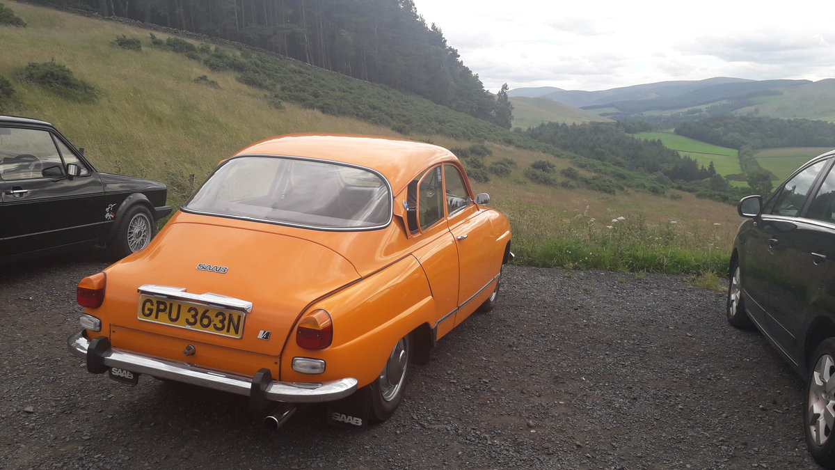 1974 Original Excellent Condition Saab 96 V4 For Sale (picture 2 of 6)
