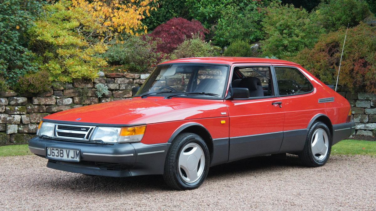 1992 Rare Saab 900 Turbo 16v AERO For Sale (picture 1 of 6)