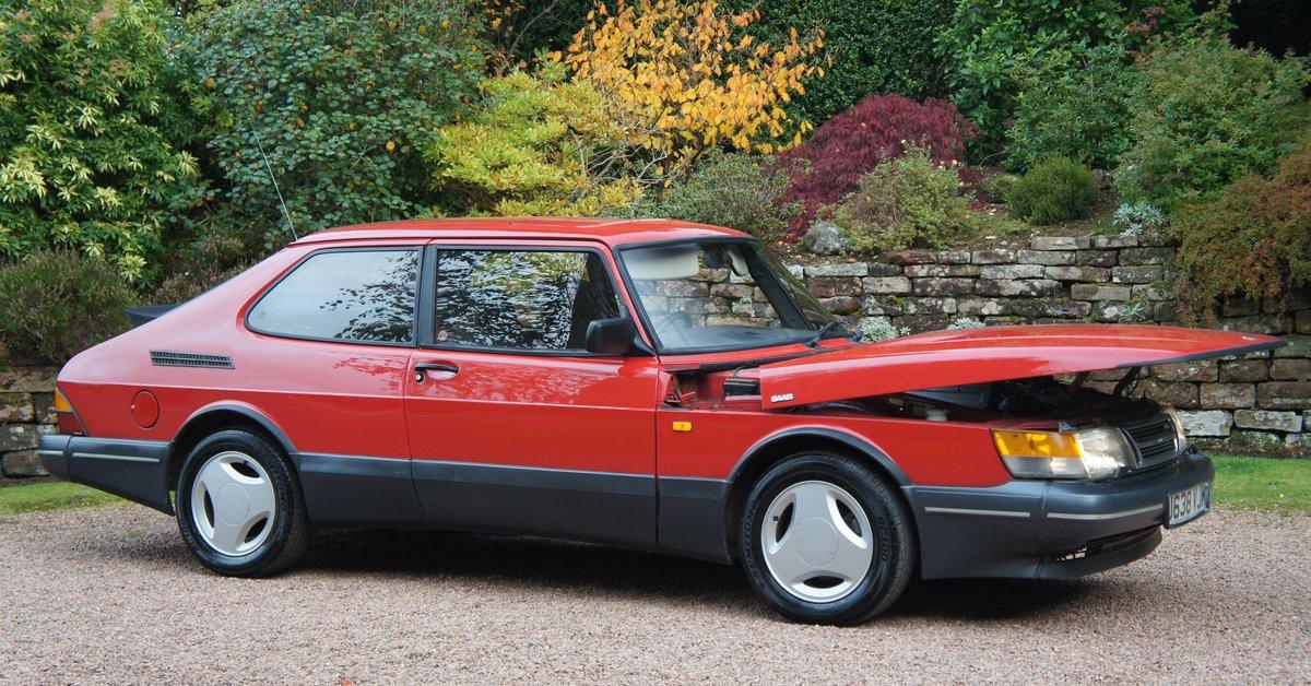1992 Rare Saab 900 Turbo 16v AERO For Sale (picture 2 of 6)