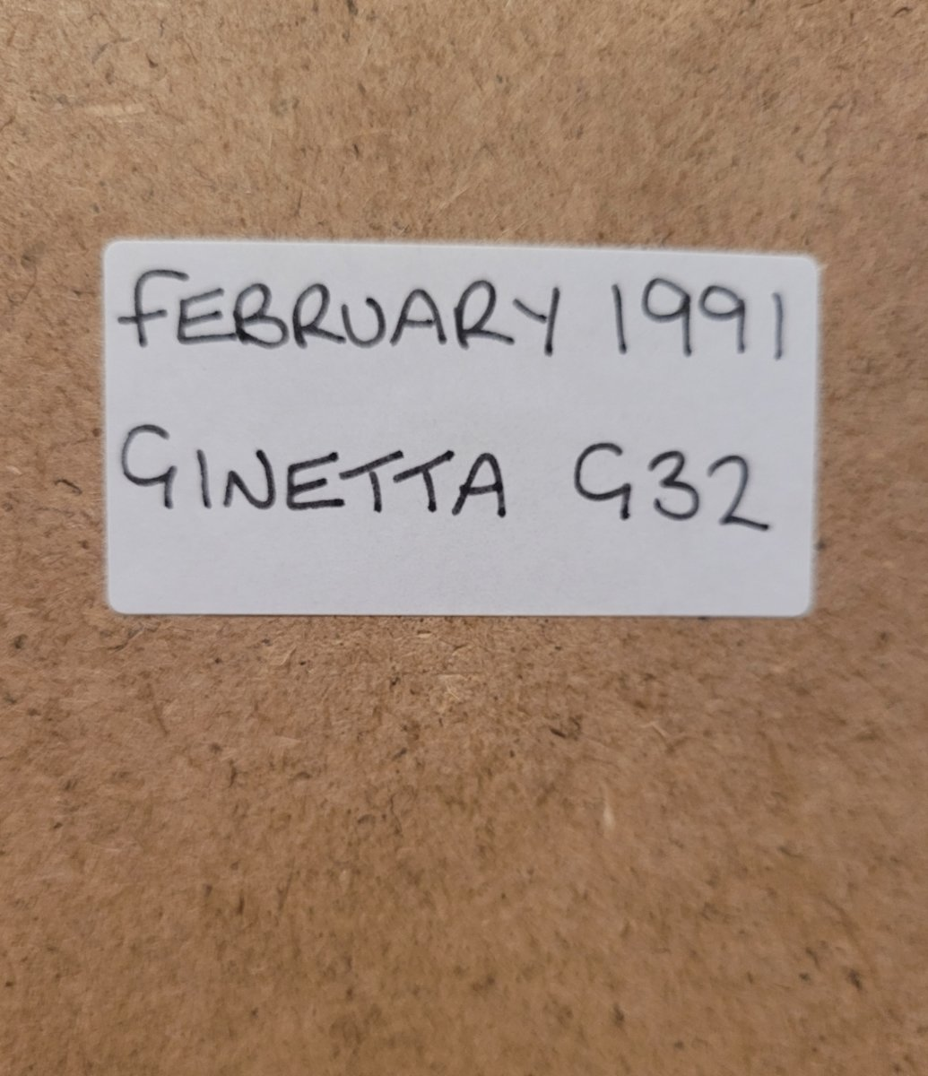 1988 Original 1991 Ginetta G32 Framed Advert For Sale (picture 2 of 3)