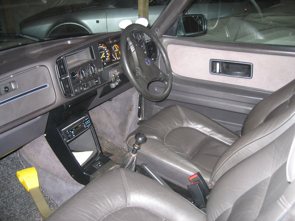 1988 SAAB 900 Turbo 16 Convertible Airflow For Sale (picture 2 of 12)