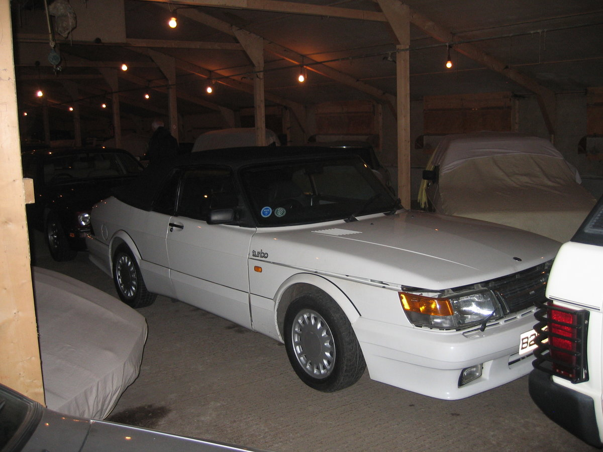 1988 SAAB 900 Turbo 16 Convertible Airflow For Sale (picture 3 of 12)