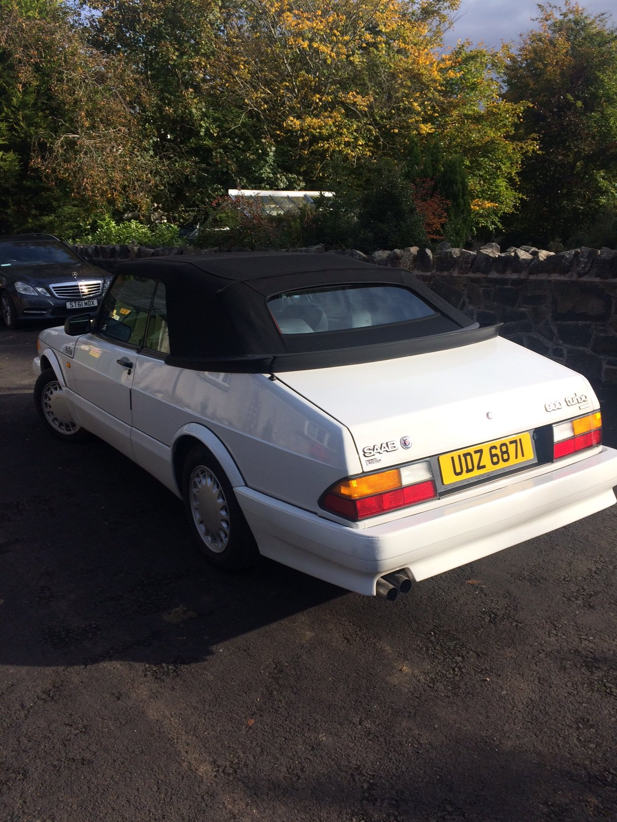 1988 SAAB 900 Turbo 16 Convertible Airflow For Sale (picture 8 of 12)