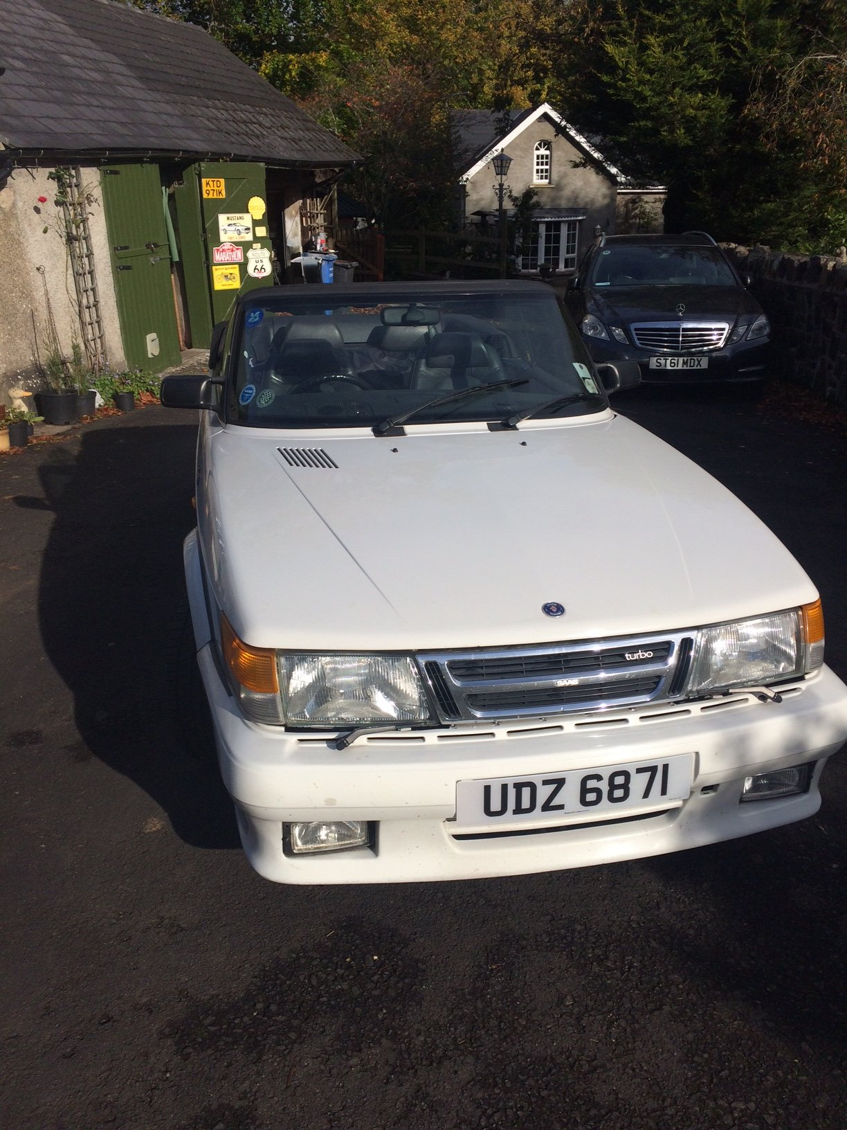 1988 SAAB 900 Turbo 16 Convertible Airflow For Sale (picture 9 of 12)