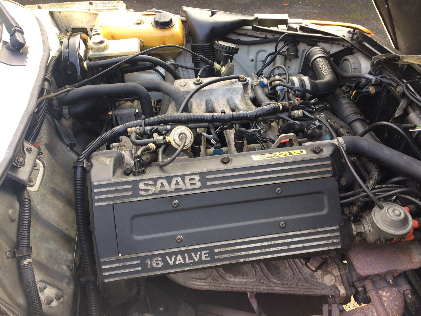 1988 SAAB 900 Turbo 16 Convertible Airflow For Sale (picture 12 of 12)